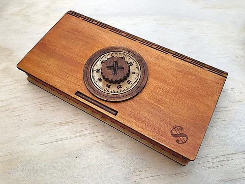 Wooden Women's Wallet