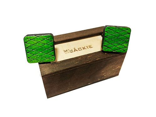 Wooden cufflinks new line