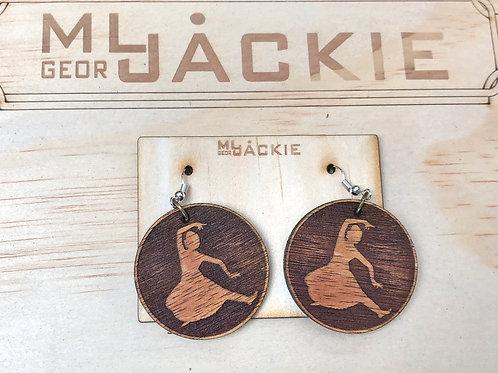 Wooden Earring WE13