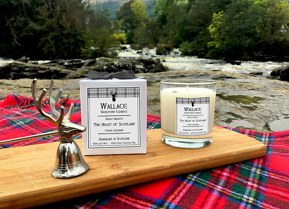 The Heart of Scotland Candle