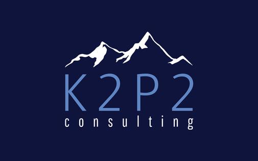 K2P2 Primary Logo Light Blue
