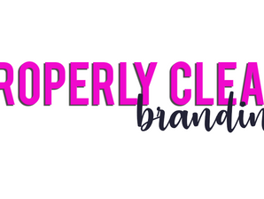 Properly Clean Branding