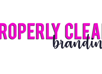 Properly Clean Branding