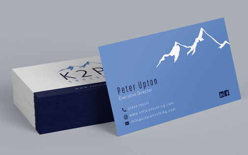K2P2 Business Card Mockup