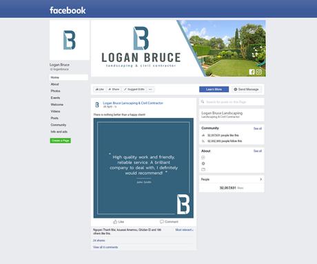 Facebook Mockup