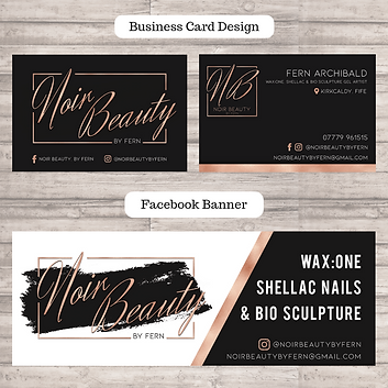 Business Card & Facebook Banner