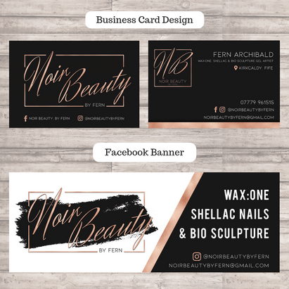 Business Card & Facebook Banner