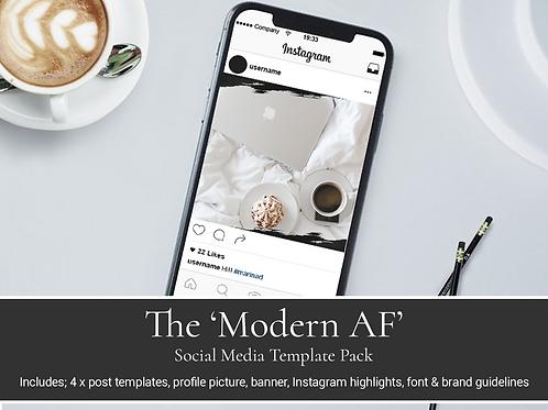 Modern AF Social Media Branding Kit