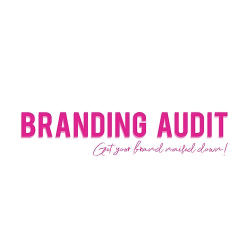 Branding Audit