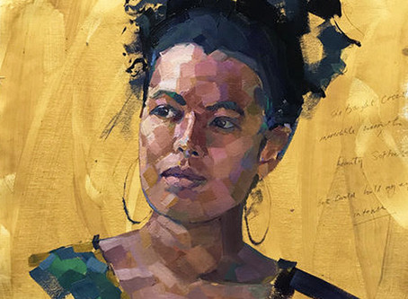 Putting women in the frame: why Claire Eastgate is Painting the Poets