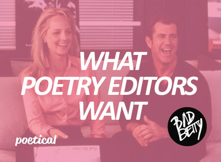 What Poetry Editors Want