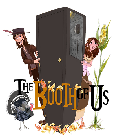 Booth Of Us Thanksgiving Logo