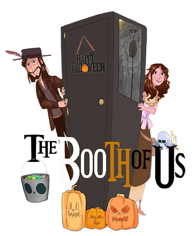 THe Booth Of Us Happy Halloween Logo