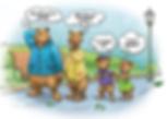 2020 children's book the quarantine bears kickstarter