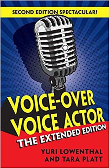 Voice-Over Voice Actor Book