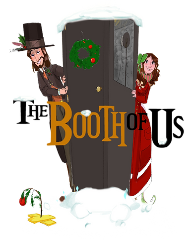 Booth of Us Holiday VO Logo