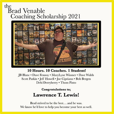 The Brad Venable Coaching Scholarship 2021 Winner