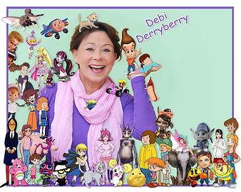 Debi Derryberry Signed Print