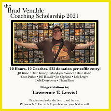 Brad Venable Coaching Scholarship 2021 Winner