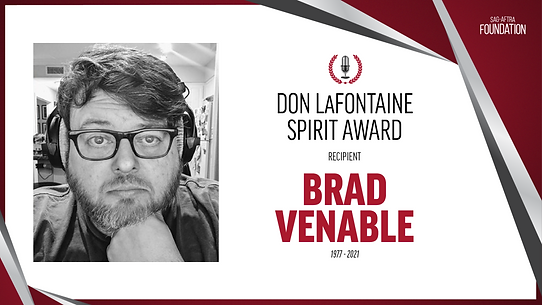 Brad Venable Spirit Award
