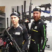 Jay Preston and Mark Whitten at Rouge MoCap