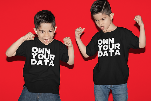 Own Your Data Childrens Tee