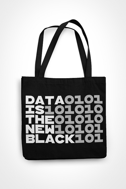 Data Is The New 0101 Tote