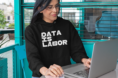 Data Is Labor Long Sleeve Tee
