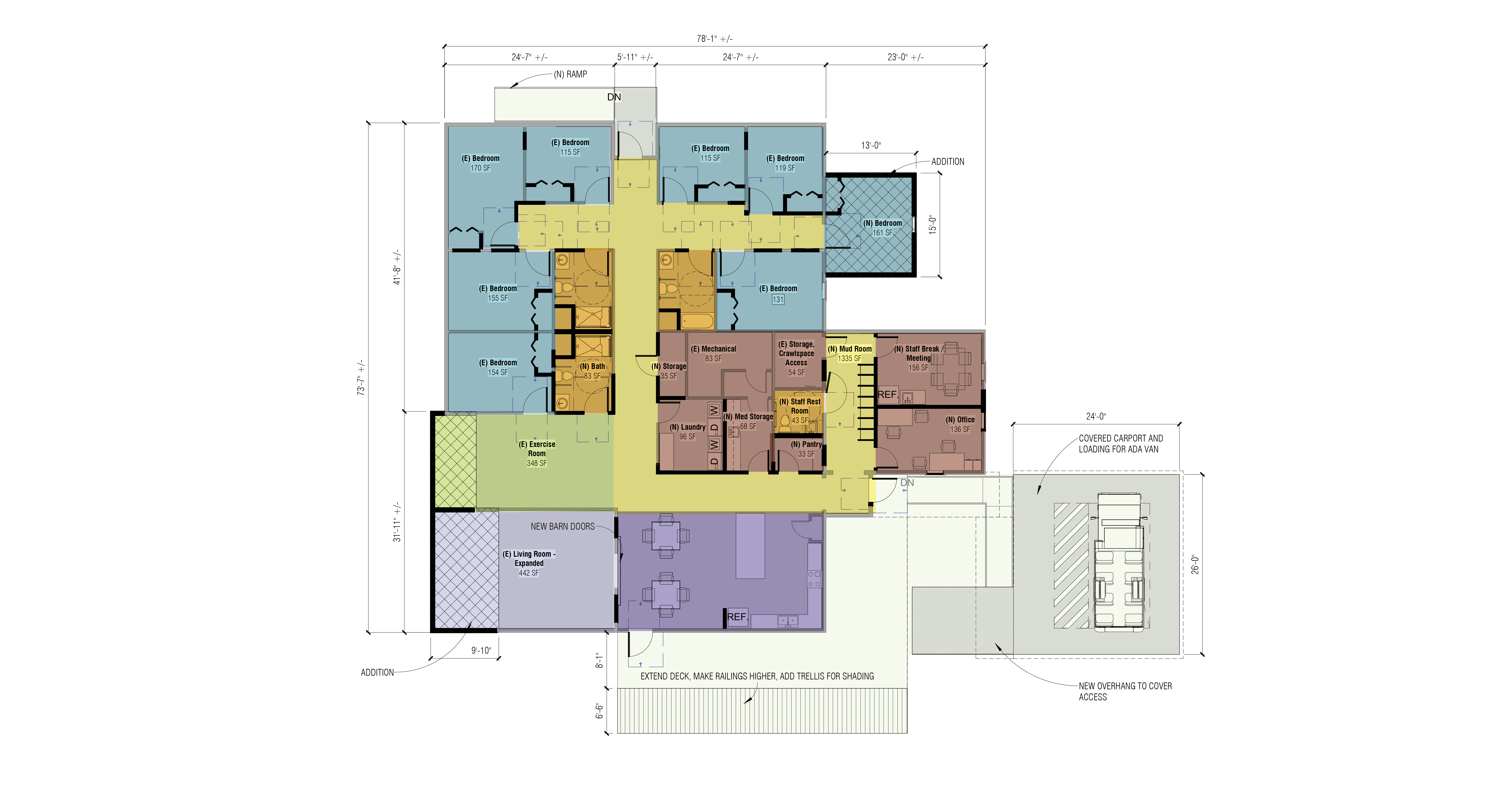 Renovation Drawing Colored2