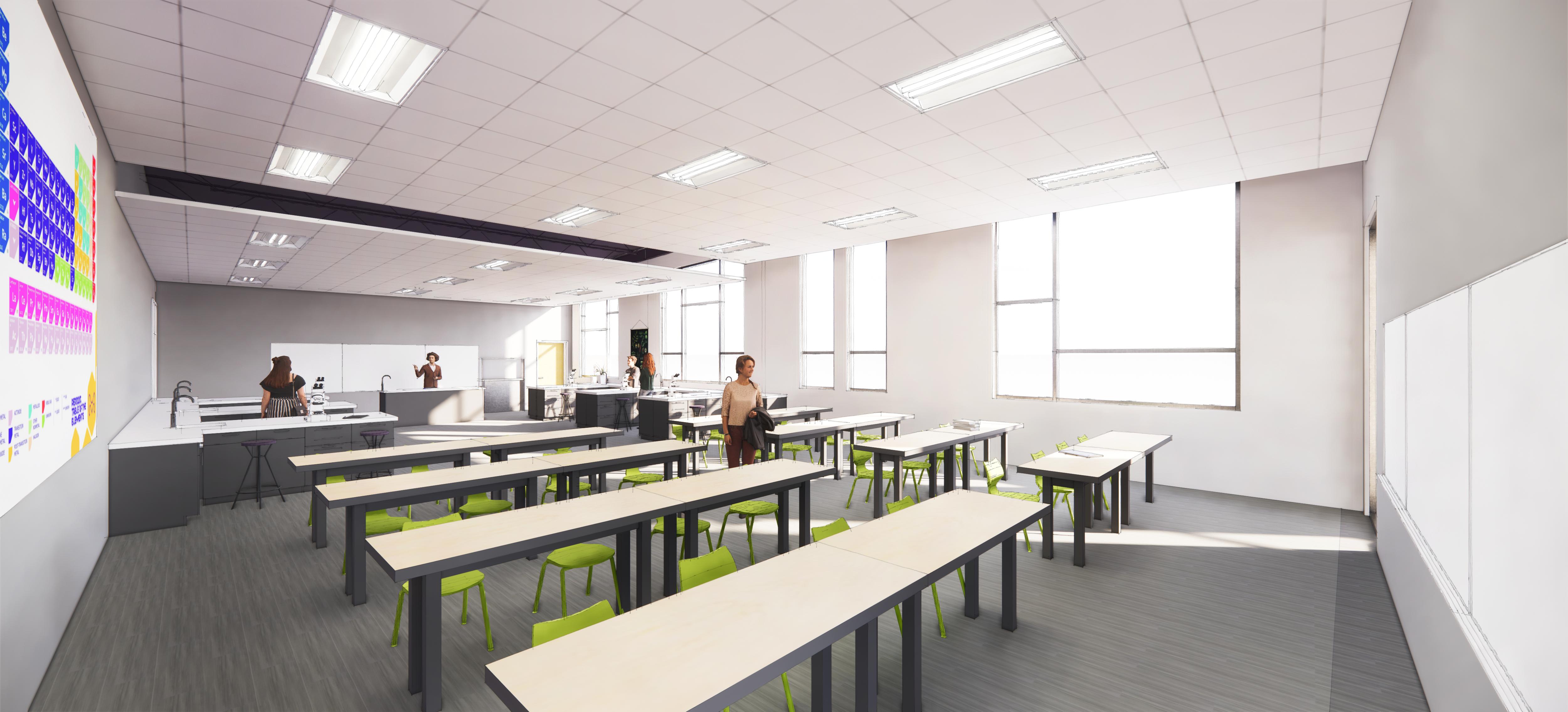Science Classroom & Lab
