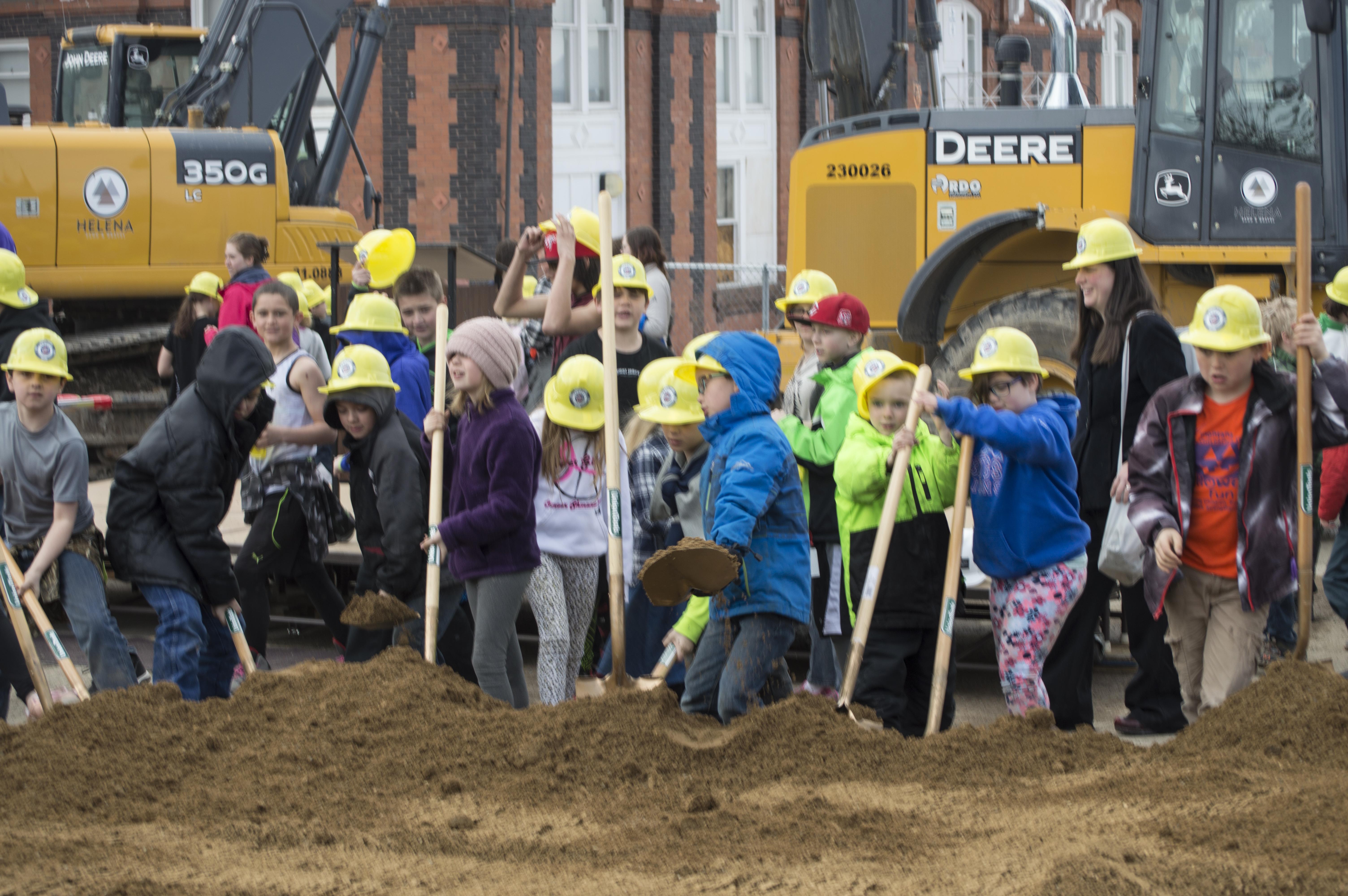 Central School Groundbreaking
