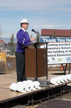 Central School Groundbreaking