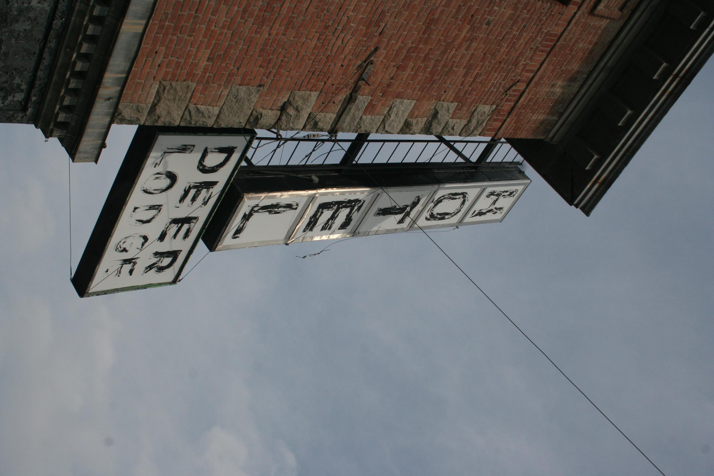 Hotel Deer Lodge Historic Sign