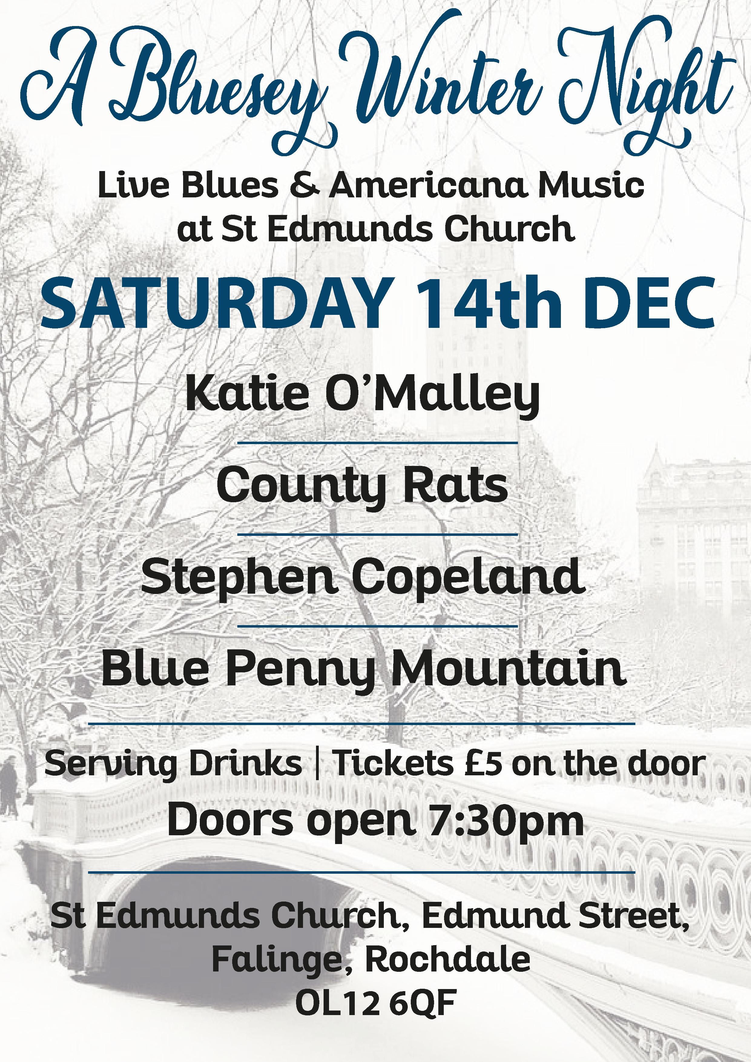 A Bluesy Winter Night - Katie O'Malley at St Edmunds Church