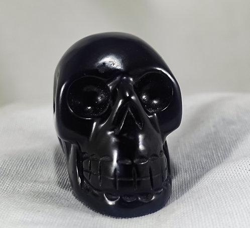 Chinese Jade Skull