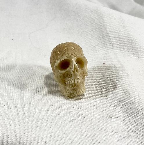 Balinese Hard Card Bone Skull