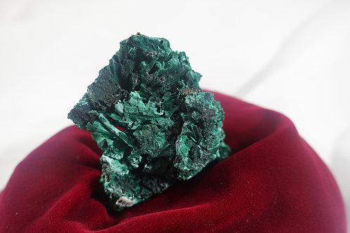 Fibrous Malachite - B