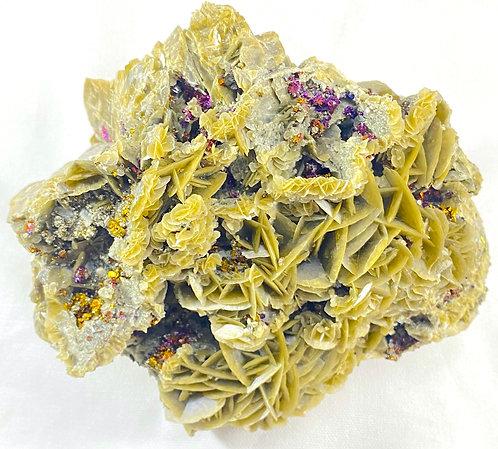 Rare Green Barite Specimen
