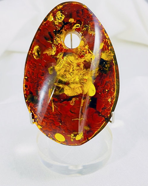 Natural  Amber Pendant