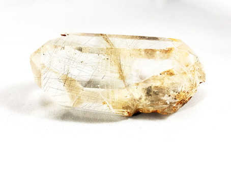 Stone of The Month : Rutilated Quartz