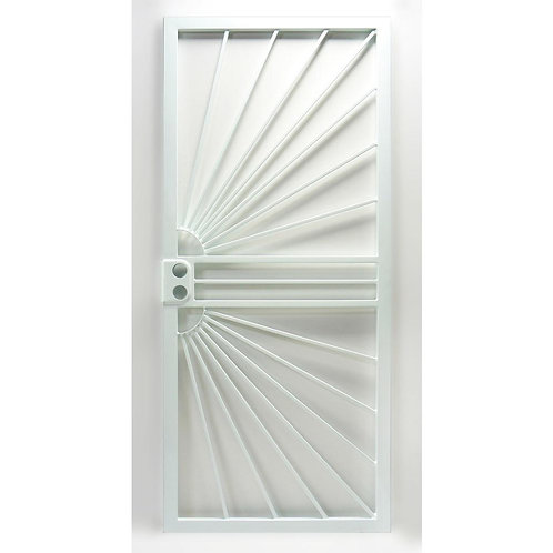 Grisham 469 Series Universal Hinge Sunburst Security Door