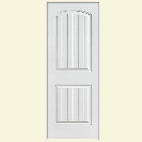 Masonite Solidoor Cheyenne 2-Panel Solid Core Composite Prheung Interior Door