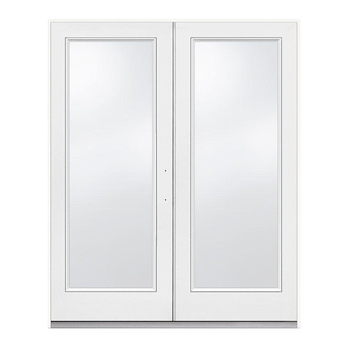 JELD-WEN Steel Inswing Full Lite Glass French Patio Door