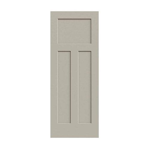 JELD-WEN Craftsman Smooth Molded Composite MDF Interior Door Slab