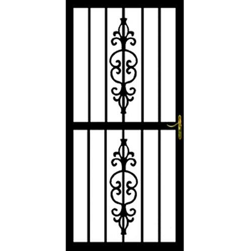 Grisham 305 Series Black Ruby Security Door