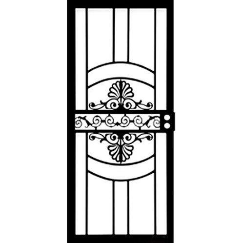 Grisham 437 Series Black Venus Security Door