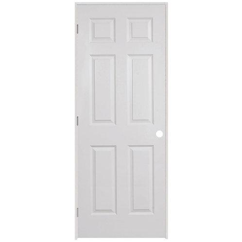 Steves & Sons 6-Panel Textured Composite Prehung Interior Door