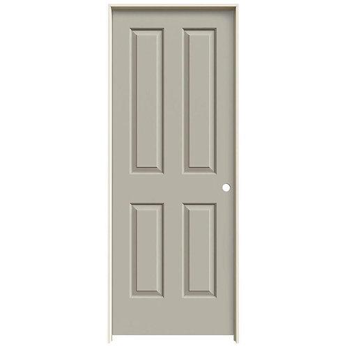 JELD-WEN Coventry Smooth Molded Composite MDF Prehung Interior Door