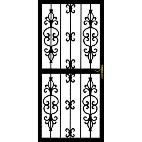 Grisham 307 Series Black Hilton Security Door