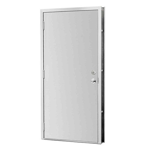 L.I.F. Industries Flush Security Steel Prehung Commercial Door